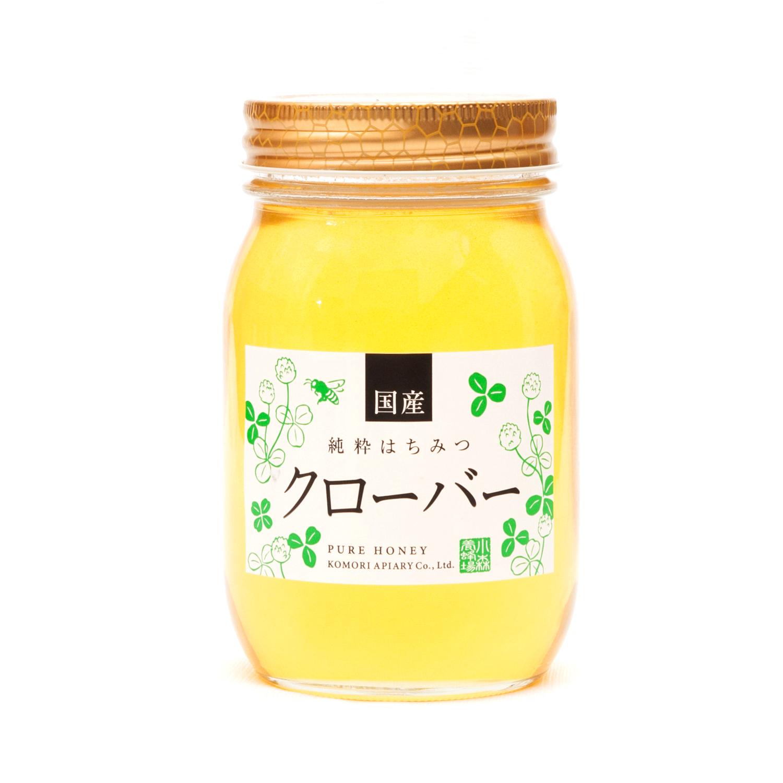 国産クローバー蜂蜜 600g