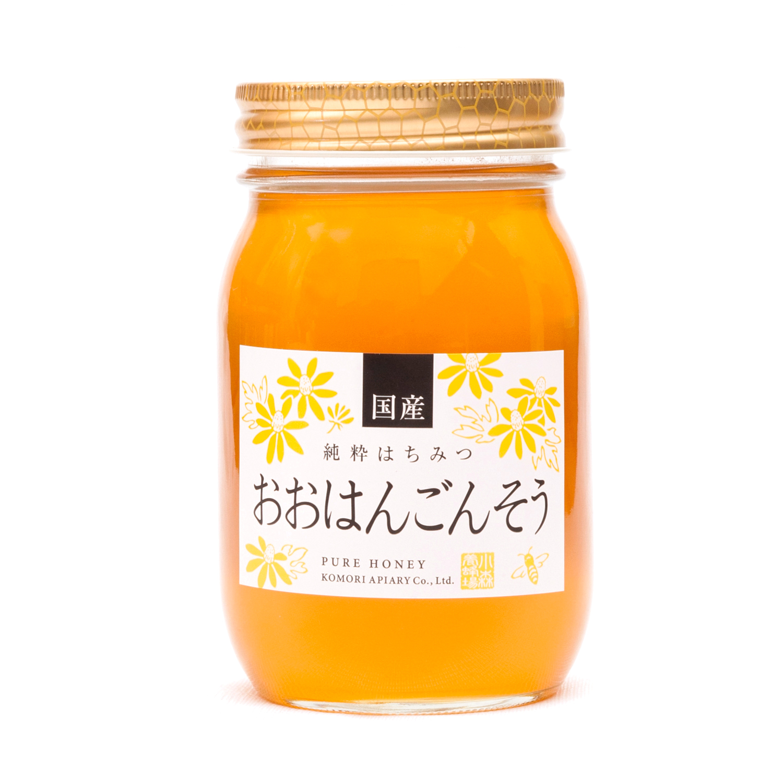 国産おおはんごんそう蜂蜜 600g