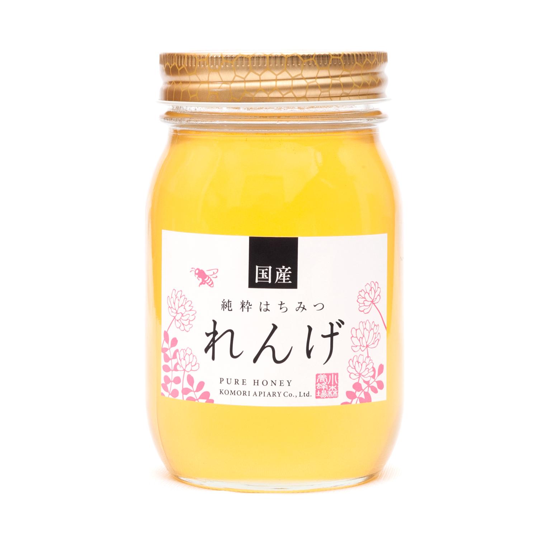 国産れんげ蜂蜜 600g