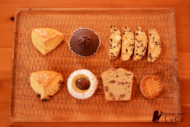 ベーグルお菓子セット11月5