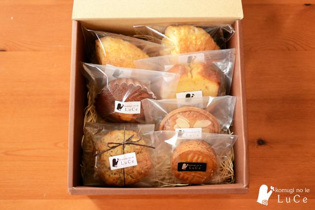 焼き菓子セット8月9