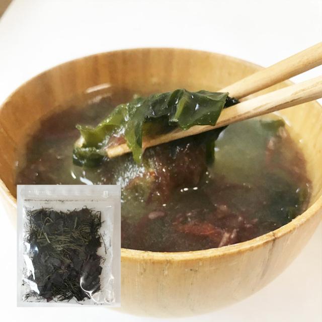海藻 味噌汁