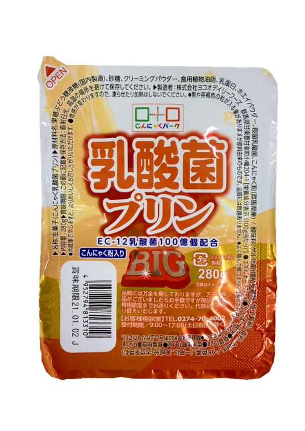 たっぷりBIGサイズ乳酸菌プリン(280g)