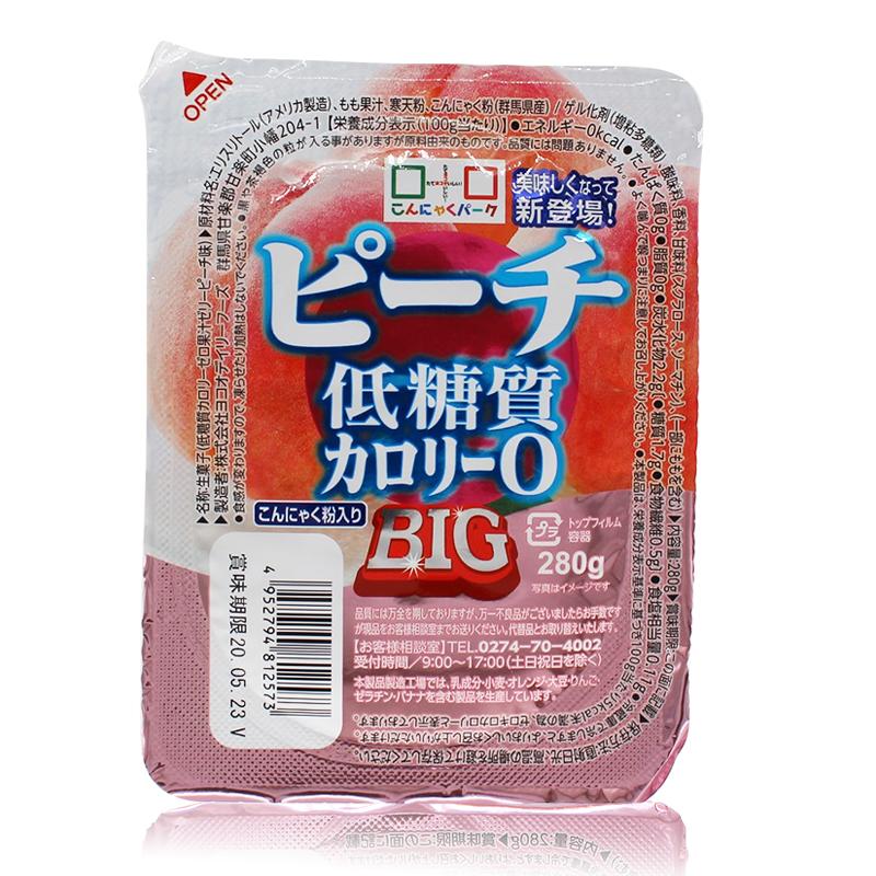 ピーチ低糖質0カロリー