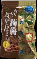 カリカリ蒟蒻おからチップス キャラメル味
