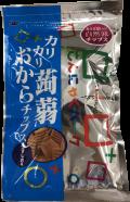 カリカリ蒟蒻おからチップス うすしお味