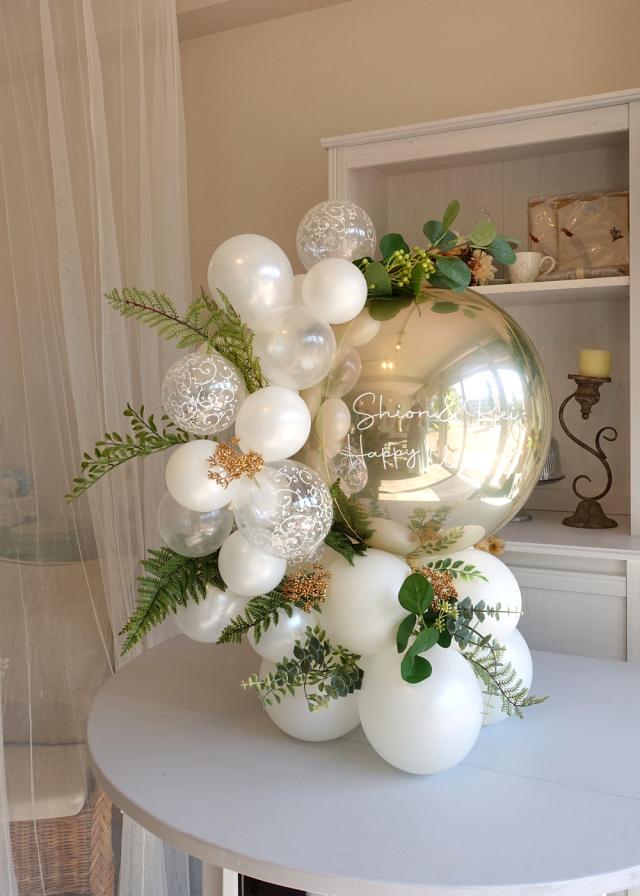 バルーンギフト卓上 バルーンアレンジ  結婚お祝い バルーン電報 文字入れ 誕生日 開店周年お祝い バルーンギフト通販ショップ KOO-DOO