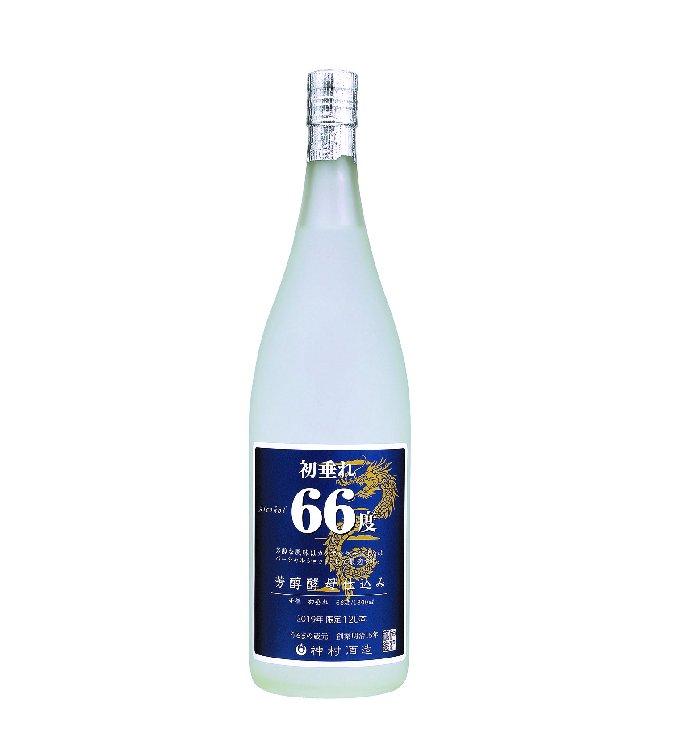 【限定品】初垂れ66度 芳醇酵母仕込み 1800ml