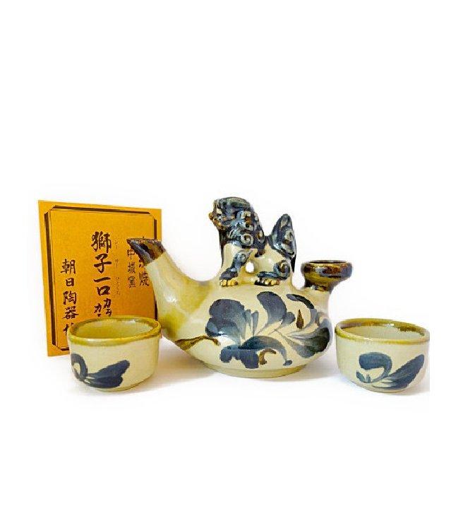 唐草カラカラセット(1合半サイズ)