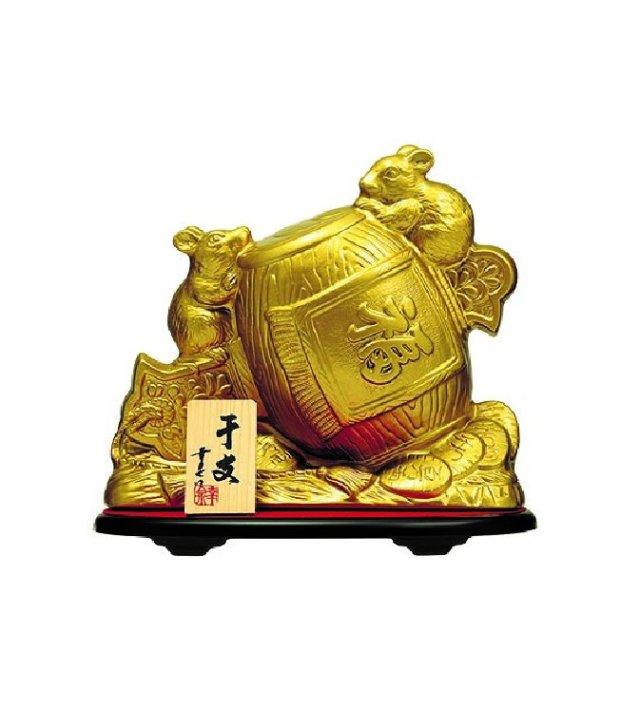 守禮30度 金の干支壷720ml 【送料無料】