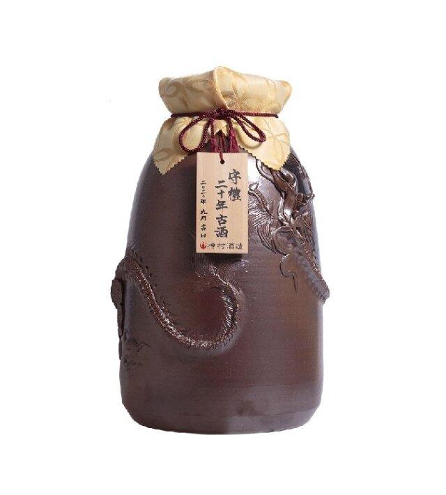 守禮20年古酒43度 美ら海窯昇龍壷3升5.4L【9/26発売】