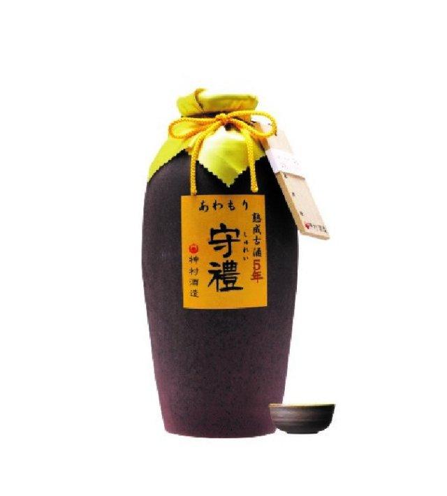 守禮5年古酒43度1升壷1800ml【送料無料】
