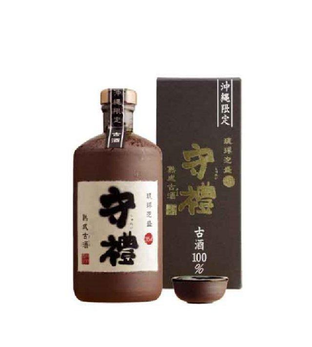 守禮古酒35度4合壷(おちょこ付き)720ml