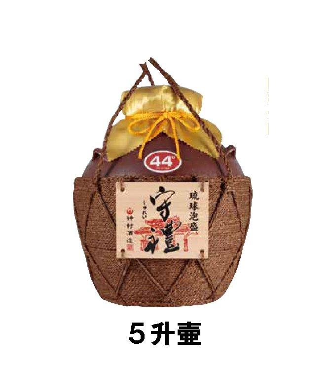 守禮44度シュロ巻壷(いちまん焼)5升壷9.0L 【送料込】