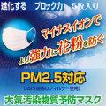 PM2.5対応(N95規格フィルター使用)大気汚染物質予防マスク ERA MASK 5枚入【プリーツタイプ】【メール便でお届け】【送料無料】
