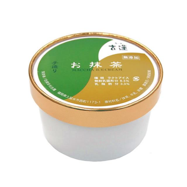 古蓮のお抹茶アイスクリーム400ml