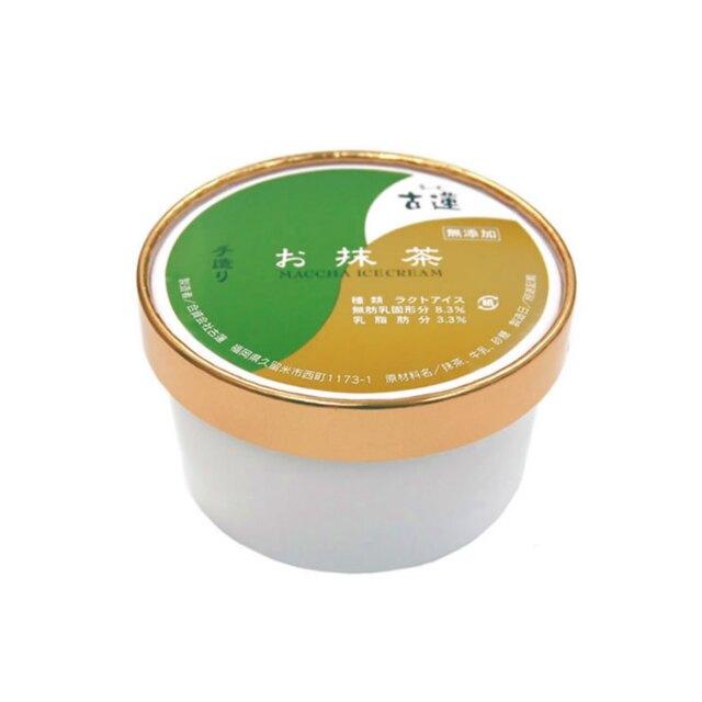 古蓮お抹茶アイスクリーム (400ml)
