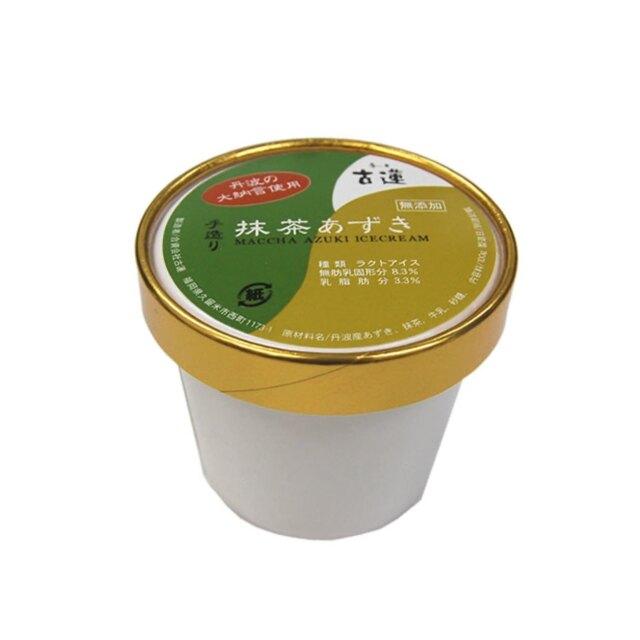 古蓮抹茶あずきアイスクリーム (100ml)