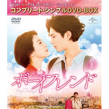 ボーイフレンド BOX1<コンプリート・シンプルDVD‐BOX5,000円シリーズ>【期間限定生産】