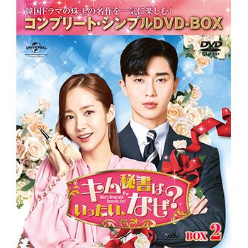 キム秘書はいったい、なぜ? BOX2<コンプリート・シンプルDVD‐BOX5,000円シリーズ>【期間限定生産】