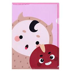 「トッケビ」公式グッズ クリアファイル ピンク