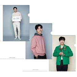 2019 ヨン・ウジン ファンミーティング ~FOR  YOU~グッズ クリアファイル(A4 3枚セット)