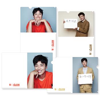 デビュー10周年記念!2019 ヨン・ウジン ファンミーティング「A4クリアファイル(4枚セット)」