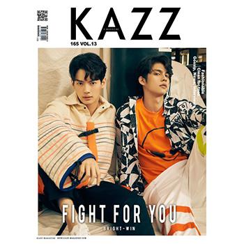 【2gether 公式グッズ】雑誌「KAZZ」vol.165 Bright & Win(カバーB) ※フォトカード付き