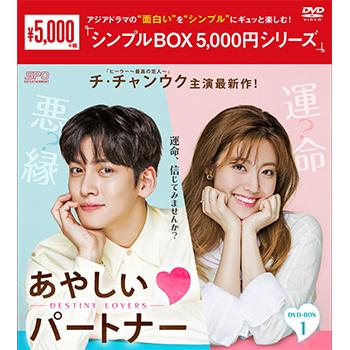 あやしいパートナー ~Destiny Lovers~DVD-BOX1(5枚組)<シンプルBOX 5,000円シリーズ>