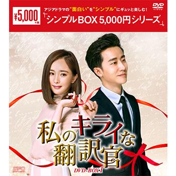私のキライな翻訳官 DVD-BOX1(10枚組)<シンプルBOX 5,000円シリーズ>