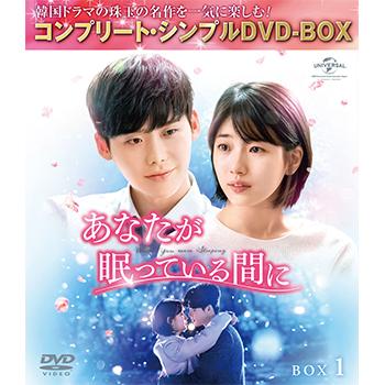 あなたが眠っている間に BOX1 <コンプリート・シンプルDVD‐BOX5,000円シリーズ>【期間限定生産】