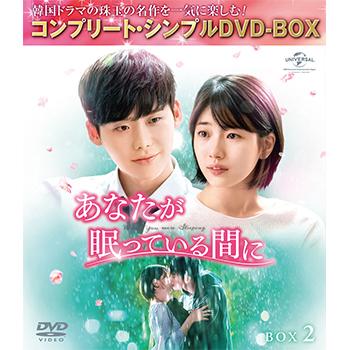 あなたが眠っている間に BOX2 <コンプリート・シンプルDVD‐BOX5,000円シリーズ>【期間限定生産】