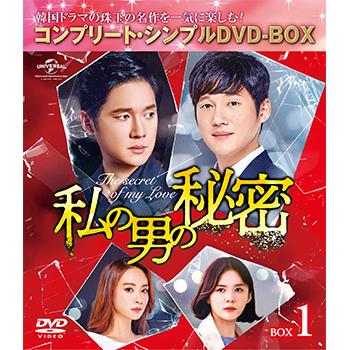 私の男の秘密 BOX1 <コンプリート・シンプルDVD‐BOX5,000円シリーズ>【期間限定生産】