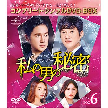 私の男の秘密 BOX6 <コンプリート・シンプルDVD‐BOX5,000円シリーズ>【期間限定生産】