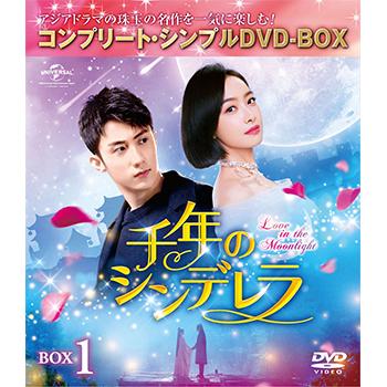 千年のシンデレラ BOX1 <コンプリート・シンプルDVD‐BOX5,000円シリーズ>【期間限定生産】