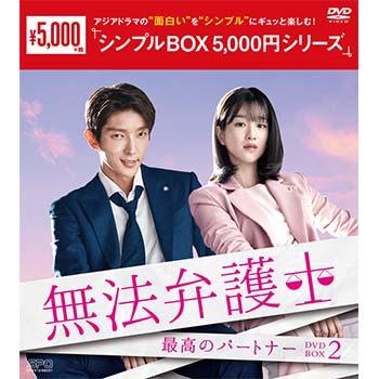 無法弁護士~最高のパートナーDVD-BOX2(5枚組)<シンプルBOX 5,000円シリーズ>