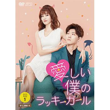 愛しい僕のラッキーガール DVD-BOX1(6枚組)