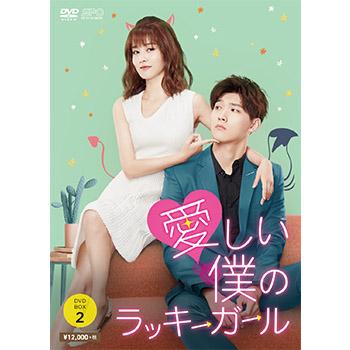 愛しい僕のラッキーガール DVD-BOX2(6枚組)