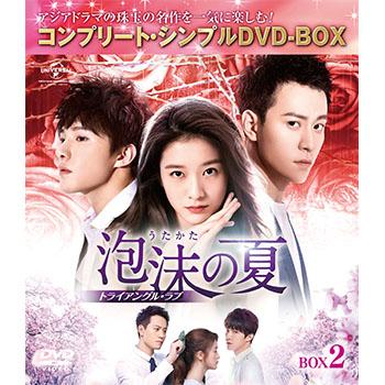 泡沫の夏~トライアングル・ラブ~ BOX2 <コンプリート・シンプルDVD‐BOX5,000円シリーズ>【期間限定生産】