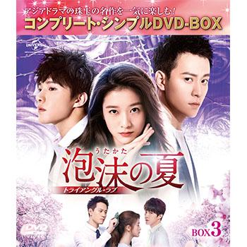 泡沫の夏~トライアングル・ラブ~ BOX3 <コンプリート・シンプルDVD‐BOX5,000円シリーズ>【期間限定生産】