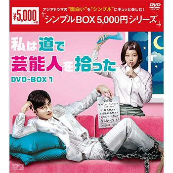 私は道で芸能人を拾った DVD-BOX1(4枚組)<シンプルBOX 5,000円シリーズ>