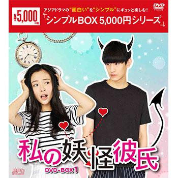 私の妖怪彼氏 DVD-BOX1(7枚組)<シンプルBOX 5,000円シリーズ>