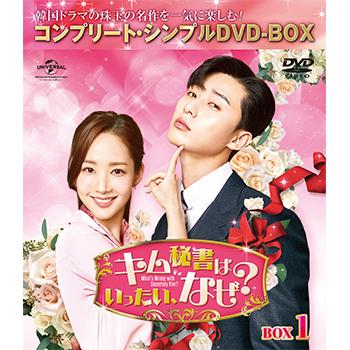 キム秘書はいったい、なぜ? BOX1<コンプリート・シンプルDVD‐BOX5,000円シリーズ>【期間限定生産】