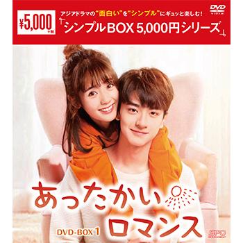 あったかいロマンスDVD-BOX1(6枚組)<シンプルBOX 5,000円シリーズ>