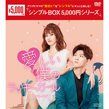 愛しい僕のラッキーガール DVD-BOX1(6枚組)<シンプルBOX 5,000円シリーズ>