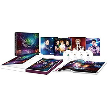 2014 JYJ ASIA TOUR CONCERT THE RETURN OF THE KING DVD