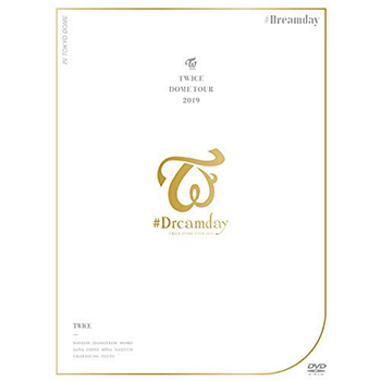 """TWICE「TWICE DOME TOUR 2019 """"""""#Dreamday"""""""" in TOKYO DOME」(初回限定盤)【2DVD+フォトブックレット】"""