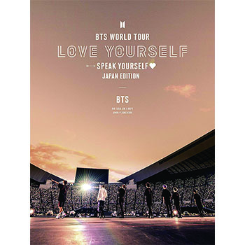 BTS「BTS WORLD TOUR 'LOVE YOURSELF: SPEAK YOURSELF' - JAPAN EDITION」(初回限定盤)【2DVD】
