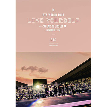 BTS「BTS WORLD TOUR 'LOVE YOURSELF: SPEAK YOURSELF' - JAPAN EDITION」(通常盤)【2DVD】