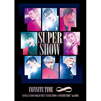 SUPER JUNIOR「SUPER JUNIOR WORLD TOUR ''SUPER SHOW 8: INFINITE TIME '' in JAPAN」(通常盤)【DVD2枚組】